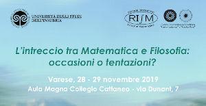 Locandinda Convegno matematica filosofia
